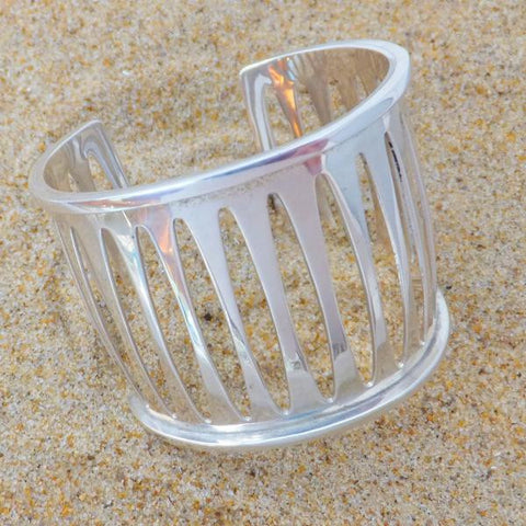 Cuff Sterling Tribal Band