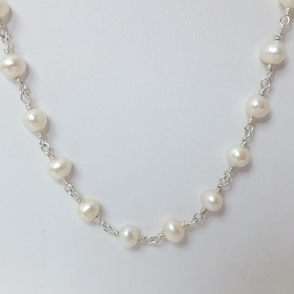 White Fresh Water Pearls
