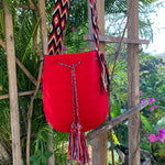 Load image into Gallery viewer, Mochila Big Red-Jenstones Jewelry