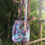 Load image into Gallery viewer, Mochila Purple, Pink, Turquoise Large Design-Jenstones Jewelry