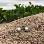 Load image into Gallery viewer, White Fresh Water Pearl Post Earrings-Jenstones Jewelry