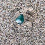 Load image into Gallery viewer, Emerald Ring Raw Facet-Jenstones Jewelry