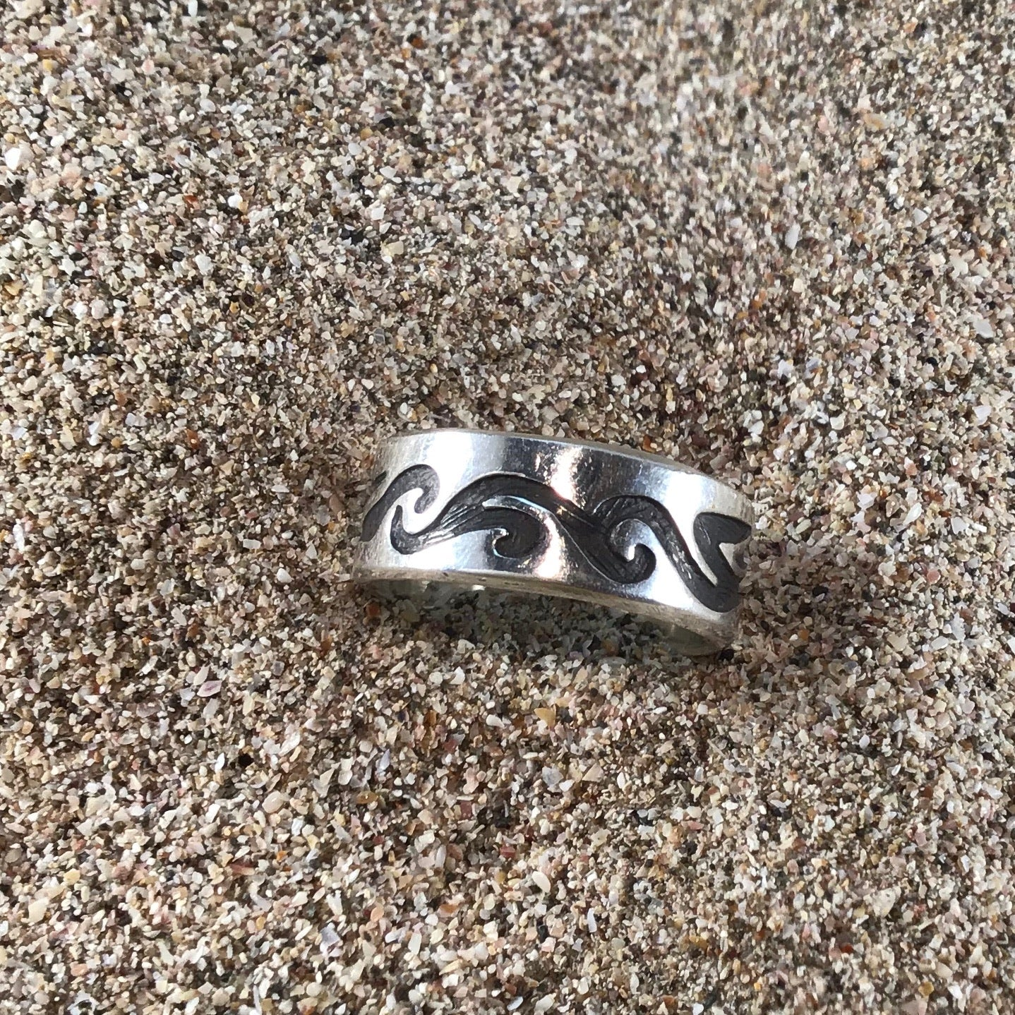 Tribal wave ring-Jenstones Jewelry
