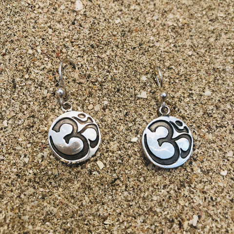 Om Dangle Earrings