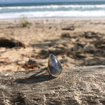 Load image into Gallery viewer, Labradorite Tear Ring-Jenstones Jewelry