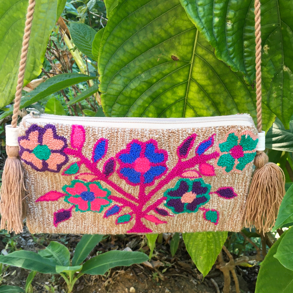 Mochila Flower Power Clutch-Jenstones Jewelry