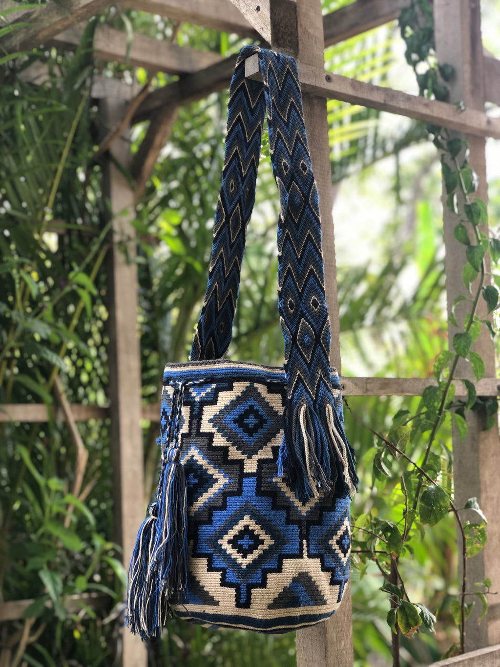 Mochila Blue Diamond Large Design-Jenstones Jewelry