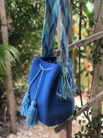 Load image into Gallery viewer, Mochila Baby Blue Large Solid-Jenstones Jewelry