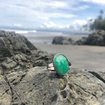 Load image into Gallery viewer, Chalcedony Facet Ring Oval-Jenstones Jewelry