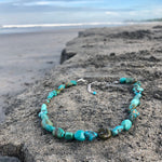 Load image into Gallery viewer, Turquoise Nugget Necklace-Jenstones Jewelry