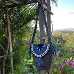Load image into Gallery viewer, Mochila Gray Large with Flap Design-Jenstones Jewelry