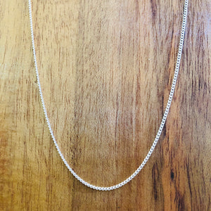 Sterling Box Chain 18''-Jenstones Jewelry