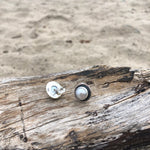 Load image into Gallery viewer, Pearl Eye Posts-Jenstones Jewelry