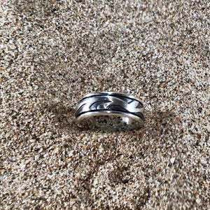Abstract Wave Ring-Jenstones Jewelry
