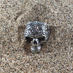 Load image into Gallery viewer, Dead Religion Skull Ring-Jenstones Jewelry