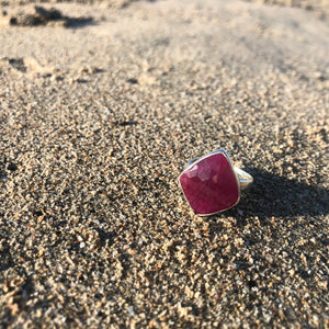 Ruby Facet Ring-Jenstones Jewelry