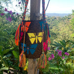 Load image into Gallery viewer, Mochila Butterfly Large Design Cafe-Jenstones Jewelry