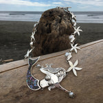 Load image into Gallery viewer, Mermaid Goddess Necklace-Jenstones Jewelry