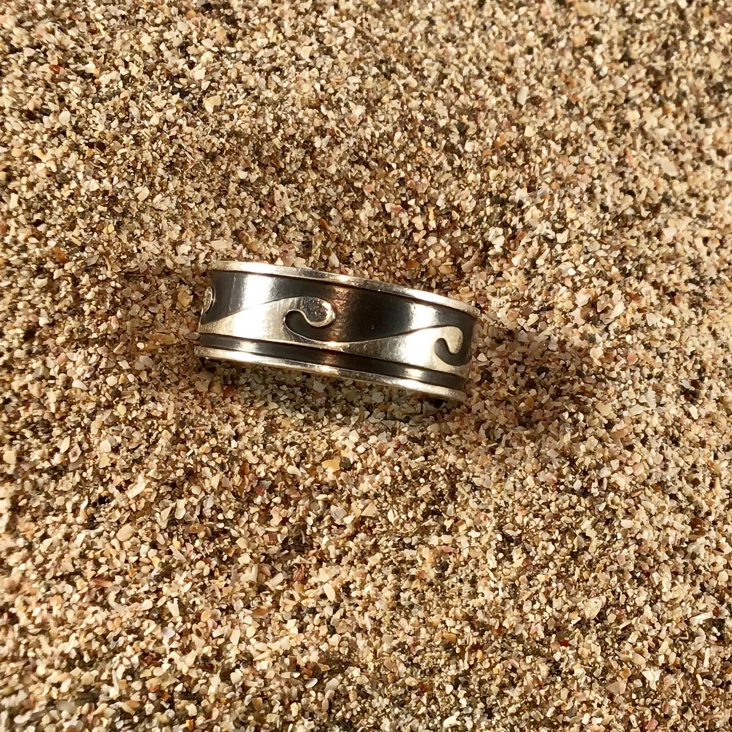 Secret Spot Wave Ring-Jenstones Jewelry