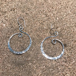 Load image into Gallery viewer, Hammered Waves Silver-Jenstones Jewelry