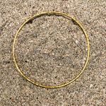 Load image into Gallery viewer, Hammered Bronze GP Bangle-Jenstones Jewelry