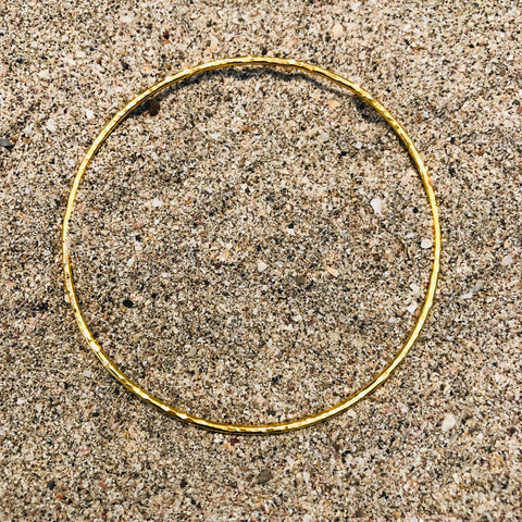 Hammered Bronze GP Bangle