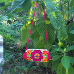 Load image into Gallery viewer, Pink Hibiscus Clutch Mochila-Jenstones Jewelry