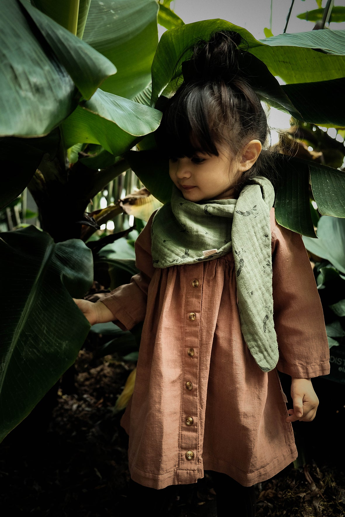 Aubepine Dress and Menthe Scarf