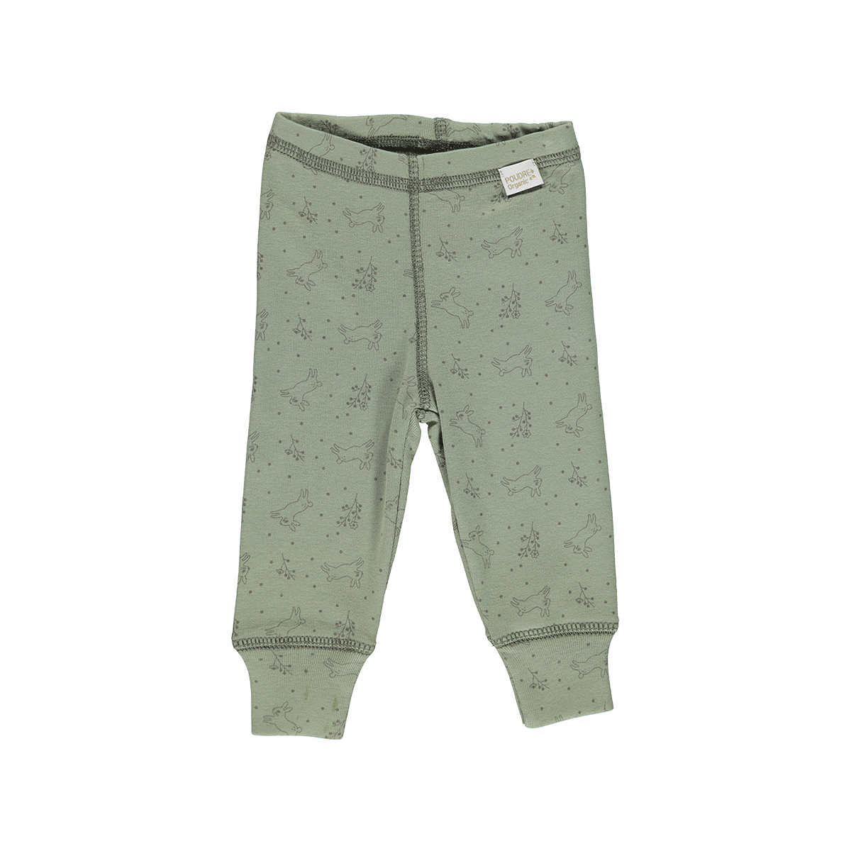Poudre Organic Leggings, oil green