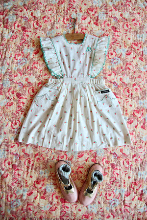 Bonjour Reina Dress - Small Flowers