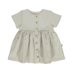 Poudre Organic Dress Guarana, natural linen