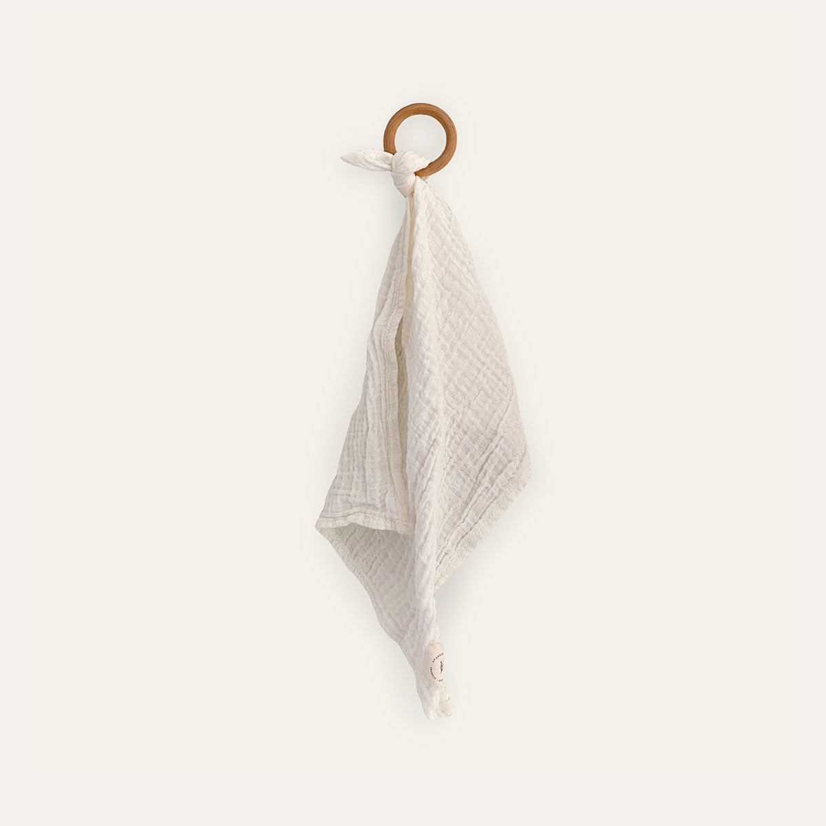 Gauze Teether, ivory