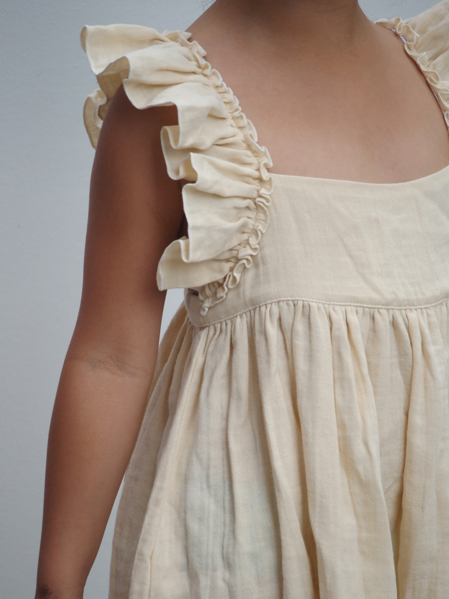 Liilu Pinafore Dress, detail