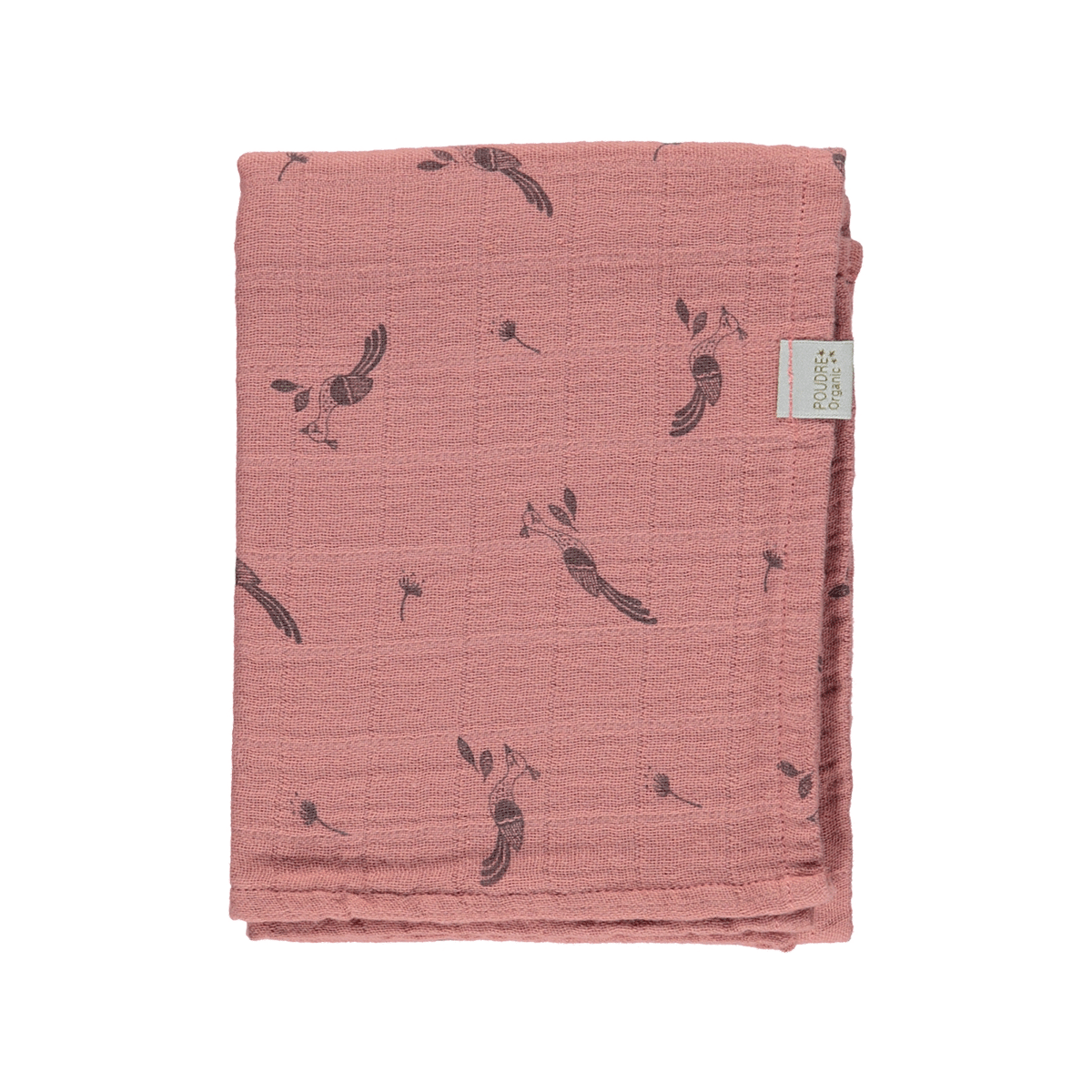 Poudre Organic Scarf Menthe, light mahogany