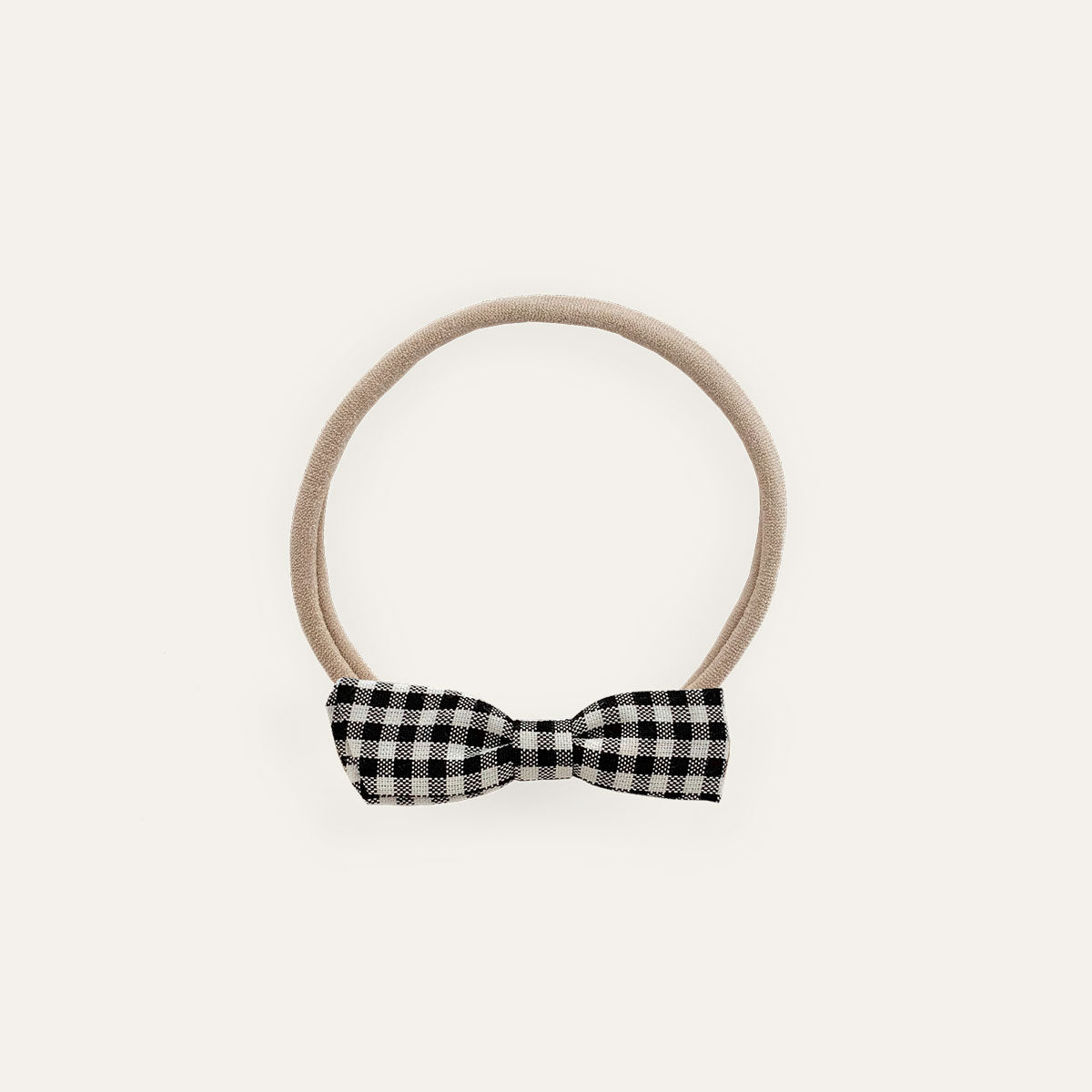 Petite Bow Gingham