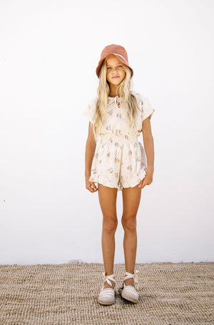 Liilu Smocked Shorts Pia