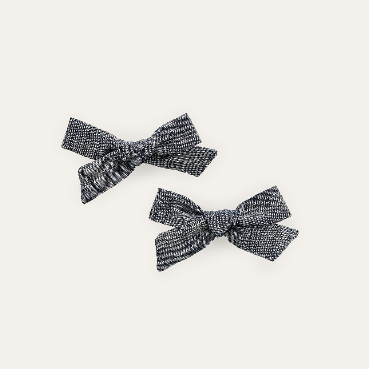 Schoolgirl Pigtail Set Chambray