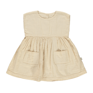 Poudre Organic Dress Hibiscus