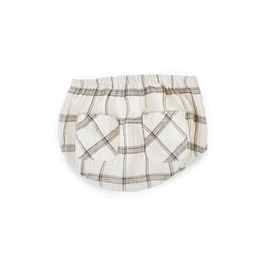 Tocoto Vintage Checkered Bloomer, back