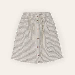 Yellow Pelota Stripes Skirt
