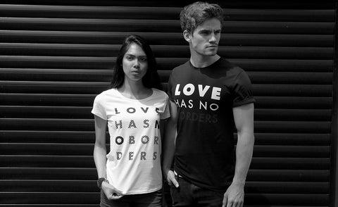 Love Has No Borders i61 Clothing ethical fashion
