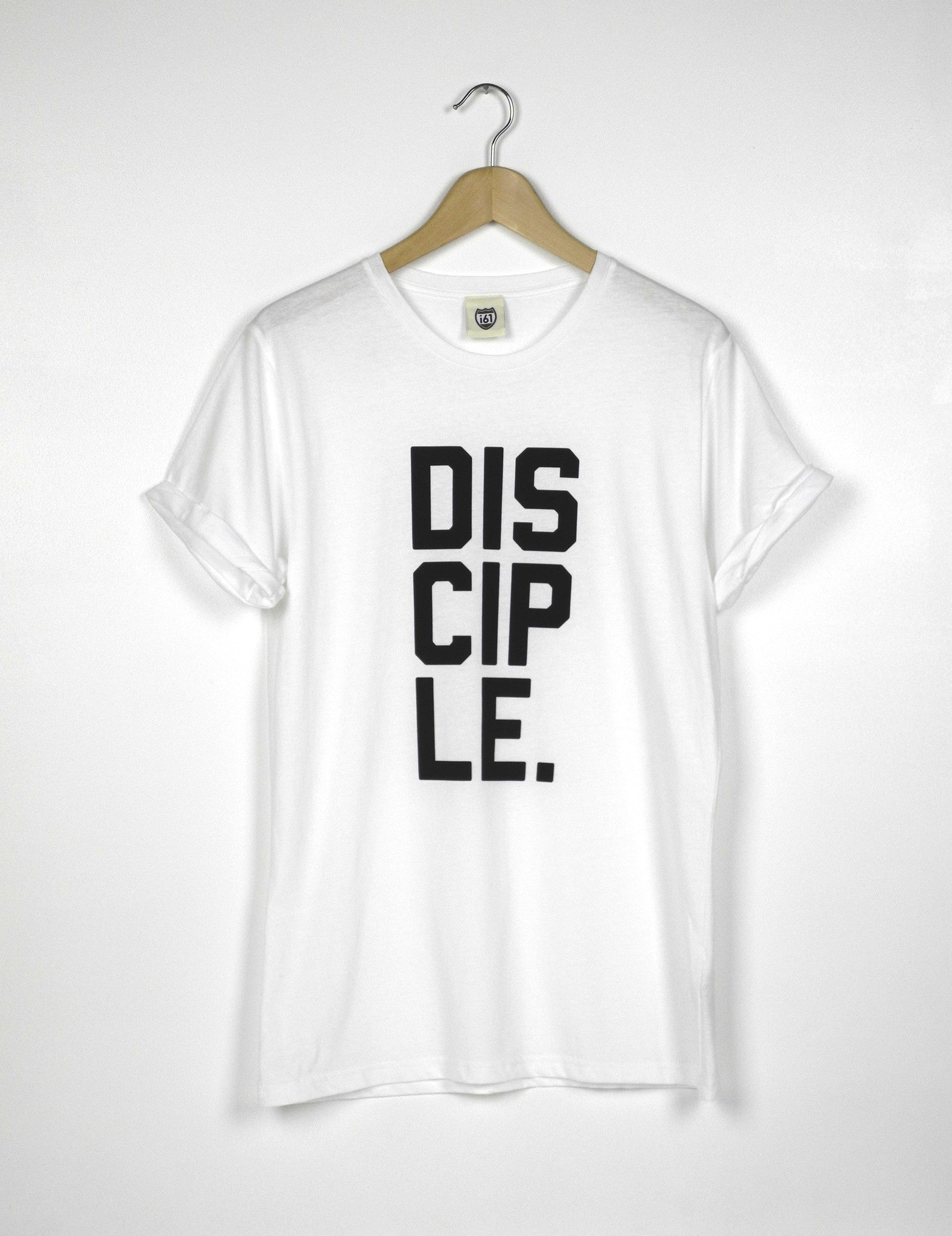 Disciple - Ethical Organic Cotton Rolled Sleeve Women's T-Shirt