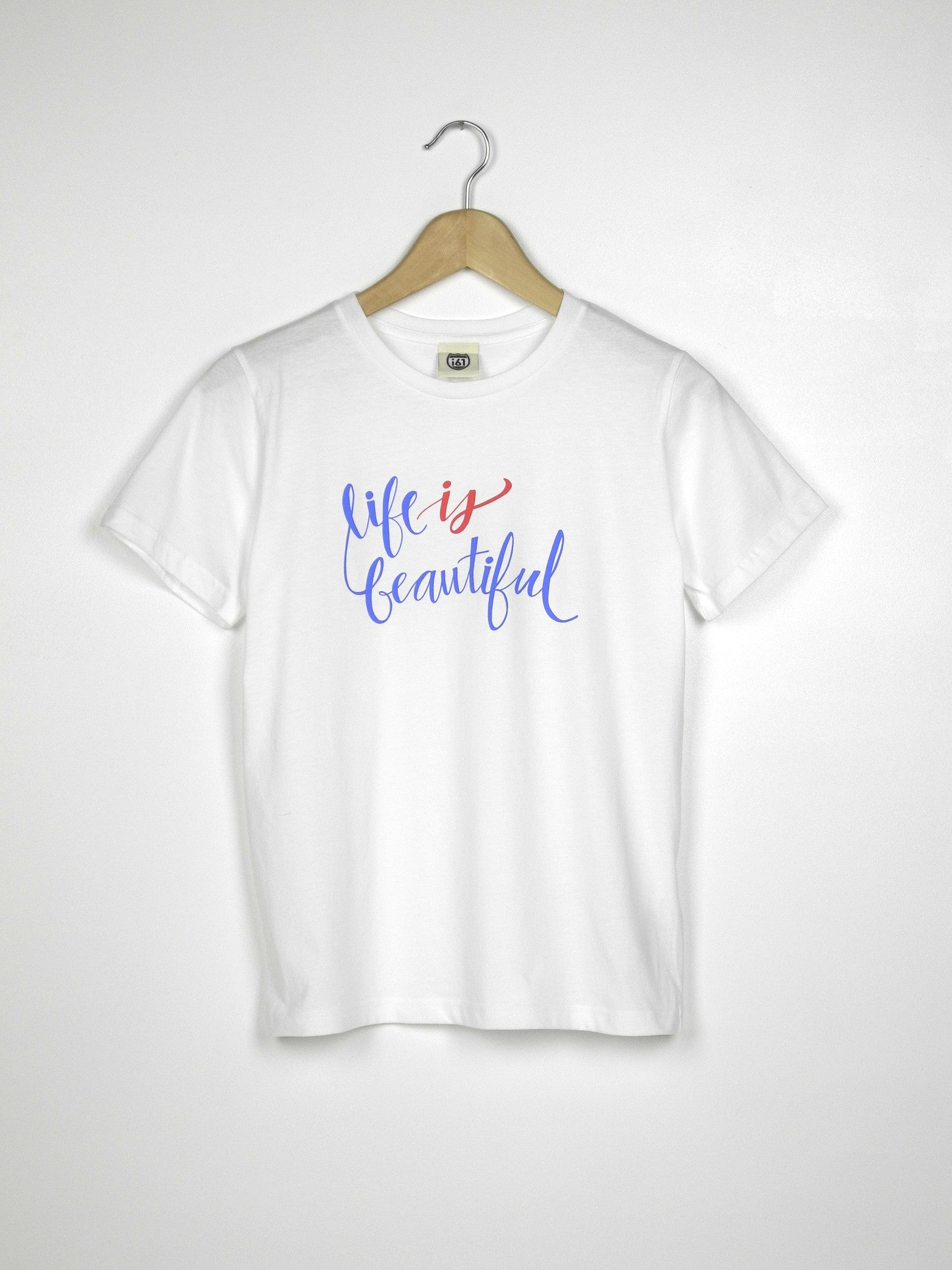 Life is Beautiful - Ethical Organic Cotton Girl's T-Shirt