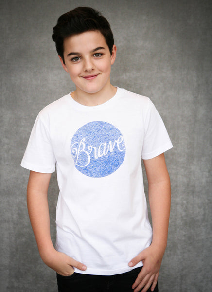 Brave -  Ethical Boy's Organic Cotton T-Shirt