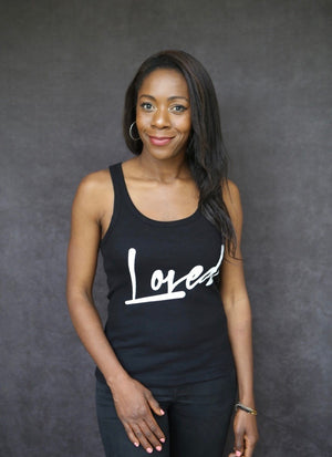 Loved - Ethical Organic 100% Cotton Racerback Vest
