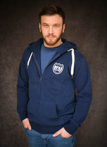 i61 Ethical Organic Cotton Zip Through Hoodie