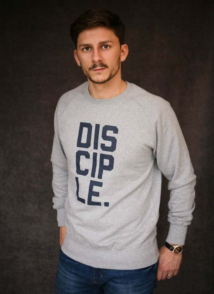 Disciple - Ethical Organic Combed Cotton Men's Sweatshirt