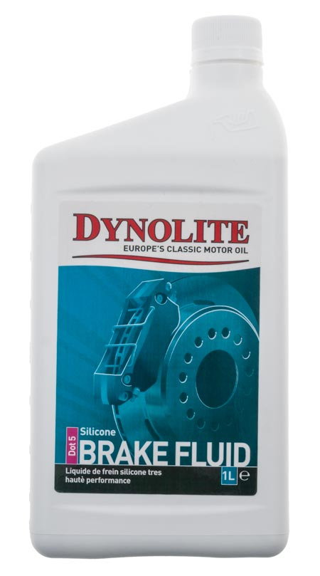 Dynolite Silicone Brake Fluid, DOT 5
