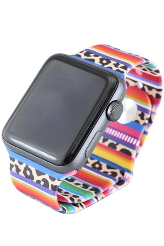 SERAPE PRINT APPLE WATCH BAND