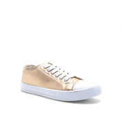 NARINA GOLD LEATHER SNEAKERS